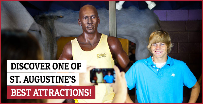 photo of michael jordan wax statue